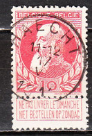 74  Grosse Barbe - Bonne Valeur - Oblit. Centrale HAECHT - LOOK!!!! - 1905 Grosse Barbe