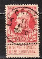 74  Grosse Barbe - Bonne Valeur - Oblit. Centrale LA CROYERE - LOOK!!!! - 1905 Grosse Barbe