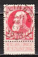 74  Grosse Barbe - Bonne Valeur - Oblit. Centrale NALINNES - LOOK!!!! - 1905 Grosse Barbe