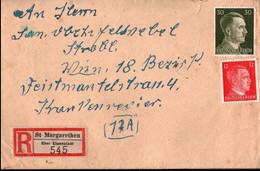 ! 1944 Einschreiben Aus St. Margarethen über Eisenstadt Nach Wien Mit Interessantem Inhalt - Cartas