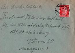 ! 1944 Brief Aus Schardenberg Nach Wien - Covers & Documents