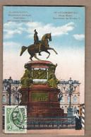 CPA RUSSIE - SAINT-PETERSBOURG - Place Marie - Monument De Nicolas 1 - TB PLAN STATUE + Jolie Oblitération 1913 - Russia