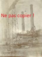 PHOTO ALLEMANDE - LES RUINES DE LA FOSSE 8 DE LENS PRES DE LOOS EN GOHELLE PAS DE CALAIS - GUERRE 1914 1918 - 1914-18