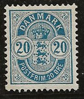 Danemark 1882-1895 N° Y&T :  37 ** - Ungebraucht