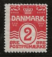 Danemark 1905-1913 N° Y&T :  49 ** - Unused Stamps