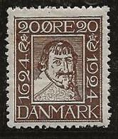 Danemark 1924 N° Y&T :  162 * - Nuevos