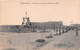 MALI  SOUDAN Francais TOMBOUCTOU - SQUARE DE LA PLACE DU MARECHAL JOFFRE    (scan Recto-verso) Ref 965 - Mali