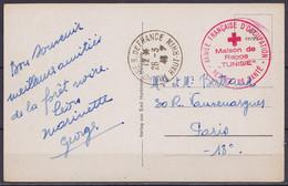 """CP Hochblauen En Franchise Càd """"MULHOUSE R. De FRANCE /26-3-1946"""" Pour PARIS - Cachet """"ARMEE FRANCAISE D'OCCUPATION / Ma - Zona Francesa"""