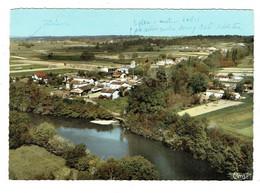 33 GIRONDE PORCHERES  Vue Générale  Aérienne Du Village Au Bords De L'Isle - Other Municipalities