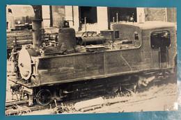 Locomotive CBR Métrique - Photo Train Gare Reims- France Champagne Marne 51 Chemin Fer Loc Loco Vapeur Secondaire VFIL - Trains