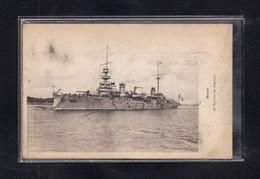 (23/02/21) THEME BATEAUX-CPA NAVIRE DE GUERRE - BREST - Guerre