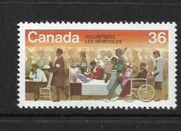 CANADA 1987 SEMAINE DES BENEVOLES  YVERT N°995 NEUF MNH** - Unused Stamps