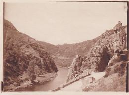ALLIER GORGES DE CHOUVIGNY 1928 - Places