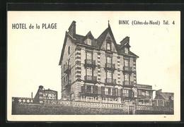 CPA Binic, Hotel De La Plage - Binic