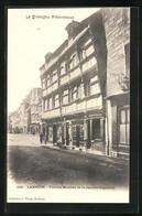 CPA Lannion, Vieilles Maisons De La Rue Des Capucins - Lannion