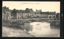 CPA Plancoet, Les Quais - Plancoët