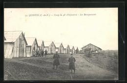 CPA Quintin, Camp Au 48e D`Infanterie, Les Baraquements - Quintin