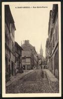 CPA Saint-Brieuc, Rue Saint-Pierre, Vue De La Rue - Saint-Brieuc