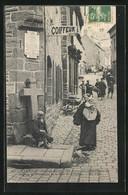 CPA Lannion, La Croix Commémorative De Geffroy... - Lannion