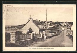 CPA Locquirec, L`arrivee Du Bourg - Locquirec