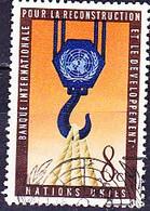 UN New York - Internationale Bank Für Wiederaufbau Und Entwicklung (IBRD) (MiNr: 93) 1960 - Gest Used Obl - Usados