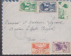 LSC - POINTE-A-PITRE Pour PARIS / 1.1.49 ( Sans Surtaxe Du 09-48 Au 01-49) - Lettres & Documents