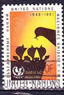 UN New York - Kinderhilfswerk Der Vereinten Nationen (UNICEF) (MiNr: 111) 1961 - Gest Used Obl - Usados