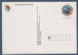 Carte Postale Entier Coupe Du Monde De Football 1998 Validité Monde 3139 Neuf Au Verso Footix Décollable Prédécoupé - Prêts-à-poster:  Autres (1995-...)