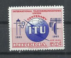 LIBERIA  YVERT   AEREO  148    MNH  ** - Liberia