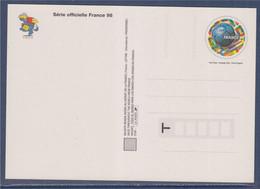 Carte Postale Entier Coupe Du Monde De Football 1998 Validité Monde 3139 Neuf Couleur Footix La Carte à Colorier - Prêts-à-poster:  Autres (1995-...)