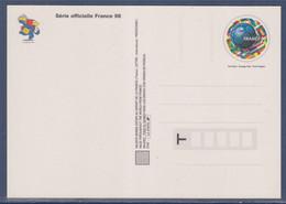 Carte Postale Entier Coupe Du Monde De Football 1998 Validité Monde 3139 Neuf La Figurine Footix La Carte Sympa Pour.... - Prêts-à-poster:  Autres (1995-...)