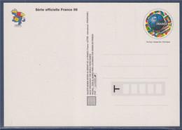 Carte Postale Entier Coupe Du Monde De Football 1998 Validité Monde 3139 Neuf La Carte Mystère Footix, Pour Découvrir... - Prêts-à-poster:  Autres (1995-...)