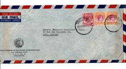 MALAYA GB AFFRANCHISSEMENT COMPOSE SUR LETTRE DE SINGAPOUR POUR LA FRANCE 1932 - Federation Of Malaya