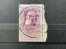 OCB 80 St-Gilles (Bruxelles) - St-Gillis (Brussel) - 1905 Grosse Barbe