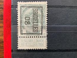 OCB 81 Preo Bruxelles 08 - 1893-1907 Armoiries