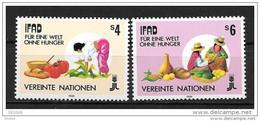 1988 -79 à 80**MNH - Fonds Pour Le Développement De L'agriculture - Nuevos