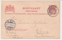 Briefkaart G. 71 Nijmegen - Duitsland 1906 - Postal Stationery