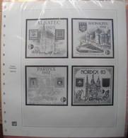 SAFE/I.D. - Jeu FRANCE BLOCS CNEP 1980/1983 - Afgedrukte Pagina's