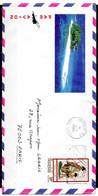 POLYNESIE. Belle Enveloppe Illustrée Ayant Circulé En 1985. - Briefe U. Dokumente