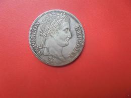 """NAPOLEON 1er. 5 FRANCS 1807 """"A"""" """"TRES BEAU FAUX !!!"""" Avec BELLE PATINE (V) - J. 5 Francs"""