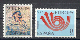 Spain 1973 - Europa Ed 2125-26 (**) Mi 2020-2021 - 1971-80 Nuevos & Fijasellos