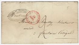 1840 : Voorloper Van CHARLEROY Naar Fontaine L'Evêque - 1830-1849 (Unabhängiges Belgien)
