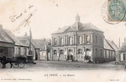 CPA JURA LA FERTE LA MAIRIE ECRITE 1905 - Other Municipalities