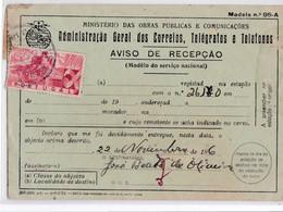 AVISO DE RECEPÇÃO SELADO - Briefe U. Dokumente