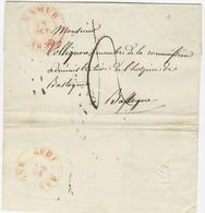 1837 : Voorloper Van NAMUR Naar BASTOGNE - 1830-1849 (Unabhängiges Belgien)