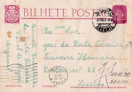 INTEIRO CARAVELA -ARGANIL - Briefe U. Dokumente