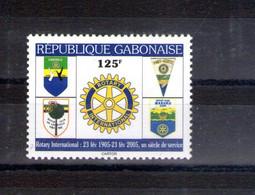Gabon. Centenaire Du Rotary Club International - Gabon