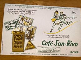 1 BUVARD CAFE SAN RIVO - Coffee & Tea