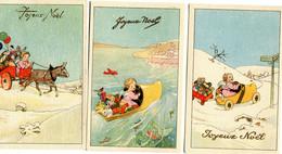 Joyeux Noel 6  Cartes    Angelots...(série 904 1 à 6) - Non Classificati