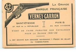La Grande Marque Française - Verney-Carron - Saint Etienne - Fusil - Werbepostkarten
